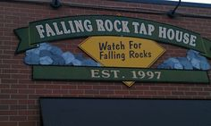 Falling Rock Tap House - Denver (Lodo) - a great place with lots of craft beer on tap.