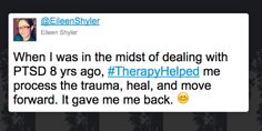 Tweets That Reveal The Life-Changing Power Of Therapy. #TherapyHelped http://www.huffingtonpost.com/entry/therapy-helped-tweets_us_57275d26e4b0f309baf146bd?utm_hp_ref=mental-health
