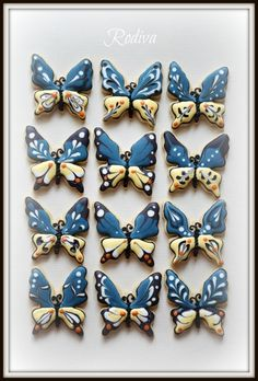 Not cake, but beautiful butterfly cookies