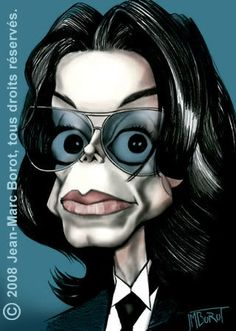 Michael Jackson by Jean-Marc Borot