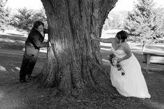 Wedding on golf course