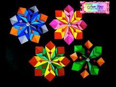 Origami Maniacs 125: Colorful Mandala