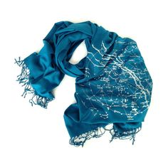 Galaxy Star Chart scarf! Our constellation scarf is a perfect way to let your special starry-eyed someone know that he or she is your Galactic Center. Adapted from an 1822 star chart. Milky Way is a translation of the Classical Latin via lactea which is seen written directly under Sagittarius at the very top of the image. Perfect for tying as an ascot, bundling around your neck, wrapping around your shoulders or flowing freely.  Shown: Ice-blue print on a gorgeous, teal blue blue scarf…