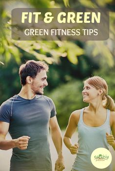 When Spring is in the air, it's easy to think about getting in shape, and starting a new workout routine. But, we don't often think about how 'green' tips can go along with fitness... #fit #green #fitness #tips #reusable