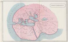 Znalezione obrazy dla zapytania ancient greek map of the world