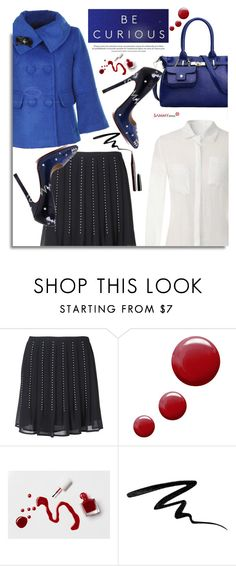 """""""Sammydress.com: Be curious"""" by hamaly ❤ liked on Polyvore featuring Cuero, Michael Kors, Topshop, tenoverten, Too Faced Cosmetics, Marc Jacobs, women's clothing, women, female and woman"""
