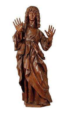 St John the Evangelist- Sint-Jan de Evangelist, Einde 15e eeuw Eik 99 x 43 cm