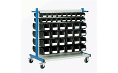 Storage Design Limited - Storage Containers & Bins - Small Parts Storage - Louvre Panel Trolleys & Kits - Louvre Panel Trolley Kit 2