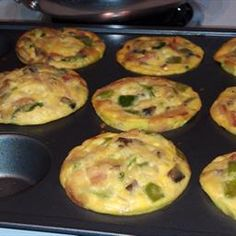 Paleo Breakfast Muffins on BigOven: Great for making the night before and then a quick 20-30 second blast in the microwave in the morning. A batch should last 3-4 days in the fridge.