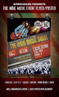 Jazz Concert Flyer  Poster  Jazz Concert Concert Flyer And