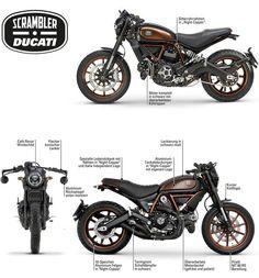 Visit a handful of my best builds - specialized scrambler hybrids like Best Motorbike, Cool Motorcycle Helmets, Retro Motorcycle, Cool Motorcycles, Moto Ducati, Ducati Scrambler Urban Enduro, Nkd Cafe Racer, Motos Retro, Cafe Racing