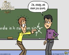 Afrikaans, Humor, Comics, Sayings, Funny, Fictional Characters, Education, Quotes, Life