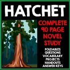 Hatchet+by+Gary+Paulsen:+Novel+Study+with+Questions,+Projects,+and+Activities  Are+you+on+the+hunt+for+a+fully+integrated,+creative,+and+comprehens...