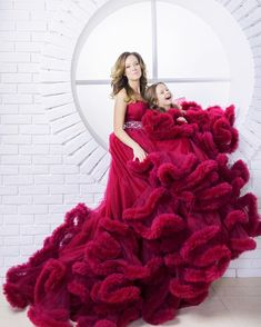 Mother daughter matching dress, Burgundy cloud dress Mommy and me outfits, Mother daughter dress, Ph Red Dresses For Kids, Girls Dresses, Flower Girl Dresses, Mother Daughter Dresses Matching, Mother Daughter Fashion, Most Expensive Dress, Mommy And Me Outfits, Tulle Dress, Pink Dress