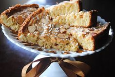 Swedish Almond Cake- perfect with coffee!