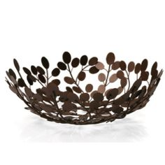 14 inch Re-Leaf Bowl by World of Good ($39.95)