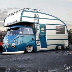 Volkswagen camper Mais
