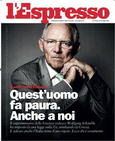 La copertina dell'Espresso in edicola venerdì 17 luglio