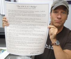 12 Points in Mike Rowe's S.W.E.A.T. Pledge – Exactly What Americans Need to Regain Its Can-Do Spirit