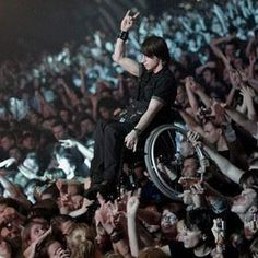 A lot of people have NO idea that people with disabilities are just people!  This kid rocks!