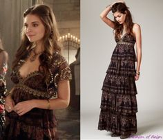 In the sixteenth episode Kenna wears this sold out Free People Magic Lamp Maxi Dress. Worn with this Moyna bolero. Reign Fashion, Fashion Tv, Fashion Design, Royal Fashion, Reign Dresses, Prom Dresses, Formal Dresses, Kenna Reign, Lady Kenna