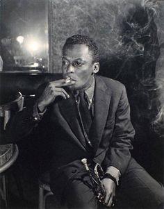 Miles Davis, Paris, 1946.