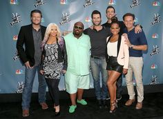 the voice cast | Are The Voice Coaches and Cast on Twitter? (PHOTOS) - The Voice