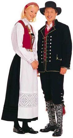 Народный костюм немцев