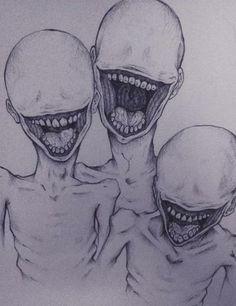 Art Inspo - Fushion News Creepy Drawings, Dark Art Drawings, Pencil Art Drawings, Art Drawings Sketches, Creepy Sketches, Art Inspo, Kunst Inspo, Arte Horror, Horror Art