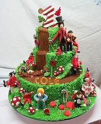 charlie and the chocolate factory cake - Google Search
