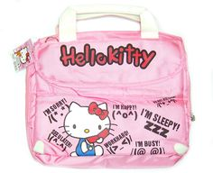 14 Pink Hello Kitty laptop notebook shoulder bag