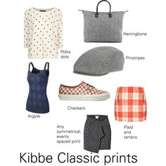 """Kibbe Classic prints"" by furiana on Polyvore"