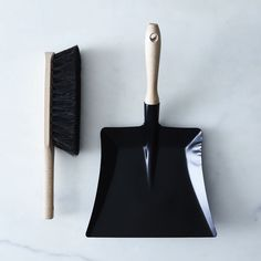 Vintage-Inspired French Brush & Dustpan Set by Andree Jardin Diy Surface Cleaners, Brooms And Brushes, Broom And Dustpan, Clean Sweep, Laundry Room Organization, Horse Hair, Food 52, Garden Trowel, Household Items