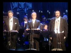 The 3 Tenors - Silent Night --- A Christmas classic, sung by 3 classic voices! Christmas Concert, Christmas Music, Little Christmas, Christmas Carol, Christmas Holidays, Christmas Videos, Family Christmas, White Christmas, Sound Of Music