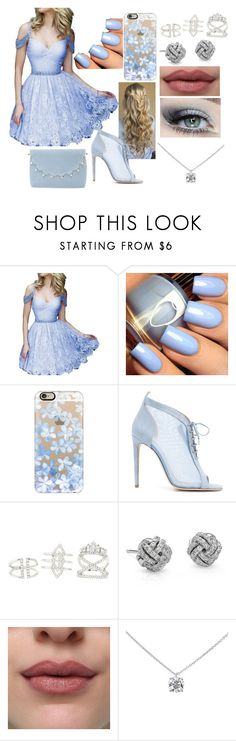 """Light Blue"" by sophie-swan ❤ liked on Polyvore featuring Casetify, Chloe Gosselin, Charlotte Russe, Blue Nile and Tiffany & Co."