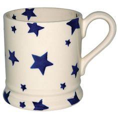 """Starry Skies"" Seconds Starry Skies 1/2 Pint Mug at Emma Bridgewater"