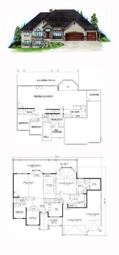 54 Best Hillside Home Plans images Hillside house House