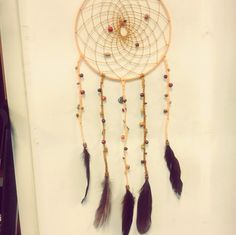 Dream Catcher diy (CLICK AND LIKE MY FACEBOOKPAGE PLEASE, THANK YOU :))