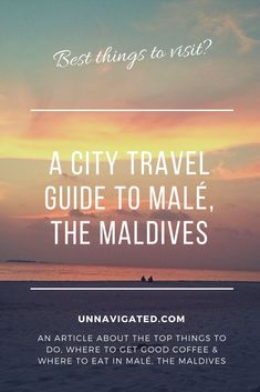 Read about the hotspots in this capital island city. Male Maldives, Visit Maldives, Maldives Travel, Maldives Destinations, Travel Destinations, Male City, Ultimate Travel, Best Coffee, Asia Travel