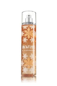Snowflakes & Cashmere - Fine Fragrance Mist - Signature Collection - Bath & Body Works - Lavishly splash or lightly spritz your favorite fragrance, either way you'll fall in love at first mist! Our carefully crafted bottle and sophisticated pump delivers great coverage while conditioning aloe mist nourishes skin for the lightest, most refreshing way to fragrance!