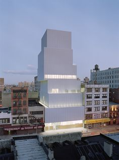 New Museum of Contemporary Art in New York by Kazuyo Sejima + Ryue Nishizawa/SANAA.