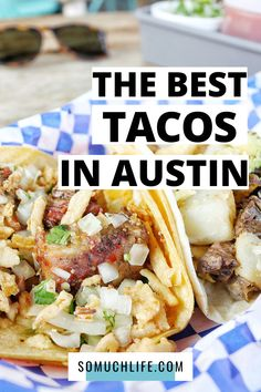 People have strong opinions about the best tacos in Austin, so I went out and tried TONS of them to write up this epic guide. These are the 18 best tacos in Austin. (Map included) #tacos #atx #Austin