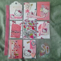 Hello kitty #pocketletter received by SD! I'm glad to hear she liked it…