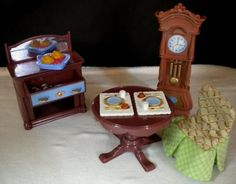 Fisher Price Loving Family Dollhouse Deluxe Decor Formal Dining Room Furniture  #FisherPrice