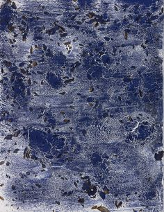 "Philippe Pastor, ""Bleu Monochrome"" (13 020 BM), 2013, 116x89cm"