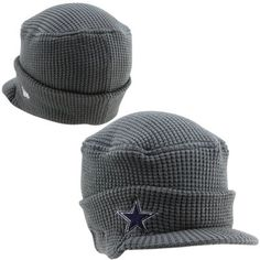 New Era Dallas Cowboys Women's Snow Sergeant Knit Hat - Gray