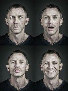 Daniel Craig  One of the best 007's and funny too.  So cute.