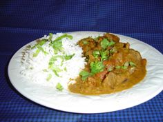 Indian Lamb Curry - A dish from the Delhi region. Cuts of boneless beef can also be used in this recipe, but the true flavor is in the lamb. Serve with some rice, pakoras or samosas and a nice crispy salad! Lamb Recipes, Curry Recipes, Indian Food Recipes, Cooking Recipes, Ethnic Recipes, Salad Recipes, Diabetic Recipes, Leftover Lamb Curry, Ginger Chutney