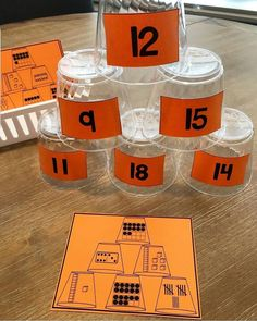Love this idea for the lower grades and back to school activities! Thanks for this awesome post and creative game. Math School, Back To School Activities, Math Activities, Math Games, Primary School, Preschool Math, Fun Math, Teaching Math, Teaching Resources