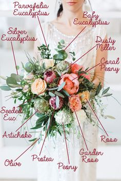 Many brides might know the wedding flower they want in their own bouquet, however are a little mystified about the remainder of the wedding flowers required to fill out the event and reception. Wedding Flower Arrangements, Flower Bouquet Wedding, Floral Wedding, Floral Arrangements, Fresh Flower Bouquet, Autumn Wedding Bouquet, Summer Wedding Flowers, November Wedding Flowers, September Wedding Flowers